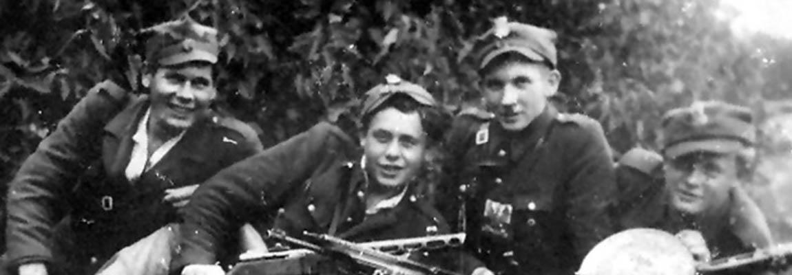 Żołnierze 3 szwadronu 5 Wileńskiej Brygady AK